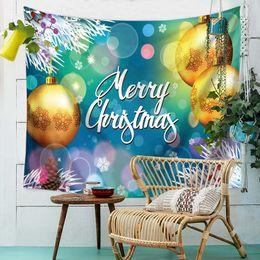 Deer Blocks NZ - Christmas Deer Tapestry Nature Pattern Printing Beach Towels Yoga Mat Sun Block Round 150*130cm Customer Made