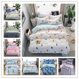 king size duvets sale Australia - Modern 16 Hot sale Style selection Bedding set fashion brief Duvet Cover microfiber Bed linens set Twin queen king size