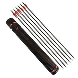 $enCountryForm.capitalKeyWord Australia - 12pcs Archery Carbon Arrow 30 inch Length Spine 500 Arrow Can Replaceable Arrowhead Send a Arrow Tube Hunting Accessories