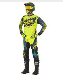 Dark Blue Suits Australia - Wholesale Motocross Off Road Quad Bike Enduro Long Sleeve Jersey Pant Mx Race Suits Jersey+Pants suits G