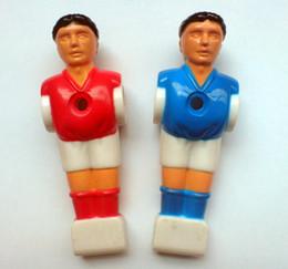 "$enCountryForm.capitalKeyWord Australia - Wholesale- FREE SHIPPING 22pcs lot blue red 5 8"" rod Foosball Soccer Table football man Player men replacement parts 02"