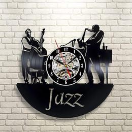 Jazz Art Art Déco Murale Chambre Cadeau Maison Moderne Record Vintage Décoration en Solde