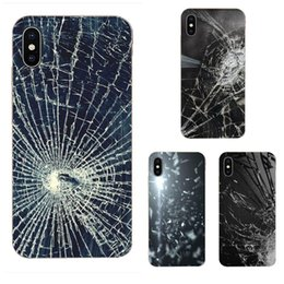 huawei 4c honor UK - Custom Colourful Design Cell Phone Case For Huawei Honor 4C 5A 5C 5X 6 6A 6X 7 7A 7C 7X 8 8C 8S 9 10 10i 20 20i Lite Pro Broken Glass