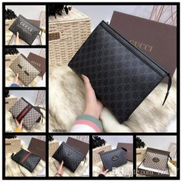 Ostrich Leather Clutch Bag Australia - Women's Travel Toiletry Pouch 26 cm Protection Makeup Clutch Women Genuine Leather Waterproof Cosmetic Bags For Women + Dust Bag