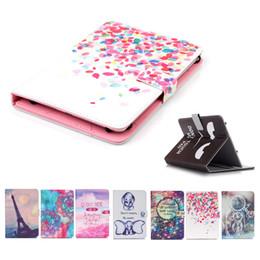 $enCountryForm.capitalKeyWord Australia - Printed Universal 7 inch Tablet Case for Samsung Galaxy Tab 4 7.0 T230 Tab 3 Lite Cases kickstand PU Flip Cover Cases