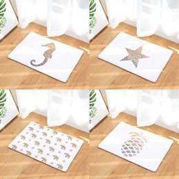 $enCountryForm.capitalKeyWord NZ - Heart Star Seahorse Pineapple Doormat Bath Kitchen Carpet Decorative Anti-Slip Mats Room Car Floor Bar Rugs Door Home Decor Gift