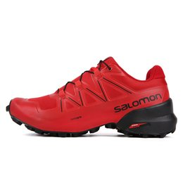 61f75a27029 Winter Running Spikes UK - 2019 Trendy Sneakers Men's and Women's Speed V  Black Blue Red