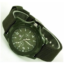 $enCountryForm.capitalKeyWord Australia - Watch Men Military Army Green Dial Army Sport Style Nylon Band Quartz Wrist Watch Men's Watches