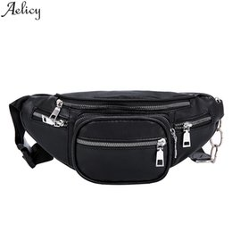 $enCountryForm.capitalKeyWord Australia - Aelicy Women Waist Packs Pu Leather Shoulder Bag Outdoor Waterproof Stylish Hobos Chest Bag Fashion Zipper Messenger New