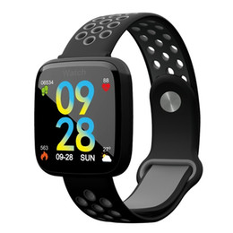 android gps tracker NZ - F15 Smart Bracelet GPS Blood Pressure Blood Oxygen Heart Rate Monitor Smartwatch IP68 Fitness Tracker Smart Watch For IOS Android Phone