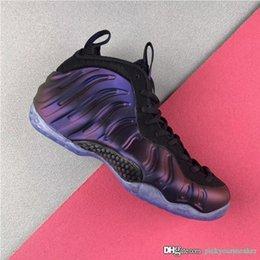 buy popular 7736f d4c17 2019 Nuevos zapatos de baloncesto para hombre Penny Hardaway Air Berenjena  Espumas Hombres Clásico Casual Entrenadores deportivos Zapatillas de  deporte de ...