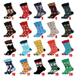$enCountryForm.capitalKeyWord NZ - New Arrived 2019 Hot Men Women Happy Socks Crazy Animals Design British Style Cotton Long Crew Socks Chaussettes Homme Fantaisie