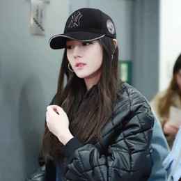 Korean couples blacK white online shopping - Korean version of the couple baseball cap embroidery fashion hundred cap outdoor casual sun hat hip hop hat