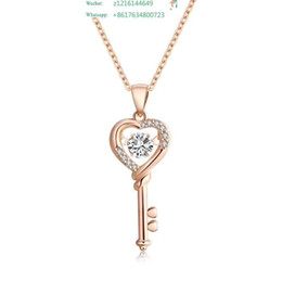 $enCountryForm.capitalKeyWord Australia - Heart Rhinestone Mom Sweater For Mother Fashion Show To Pendant Exclusive Classic Jewelry 925 Silver Woman Brand