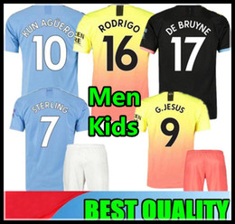 $enCountryForm.capitalKeyWord Canada - 19 20 soccer jersey 2019 2020 city JESUS MAHREZ DE BRUYNE KUN AGUERO football shirt Camiseta MENDY WALKER SILVA MAN uniforms manchester