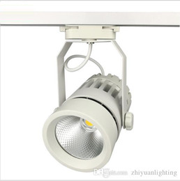 $enCountryForm.capitalKeyWord Australia - LED Track Lights 30W COB 130-140lm W Moving Head Modern Wall Rail Light Equal 300W Halogen Lamps For Clothes Shop Shoes Store