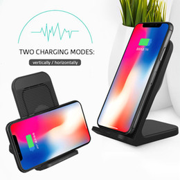 iphone xr charging station Australia - High Quality For iPhone 11 11 Pro XS Max XR 8 For samsung S10 S9 S8 note 10 9 Qi fast charging station free shipping