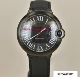 $enCountryForm.capitalKeyWord NZ - Limited Quantity Luxury Mens Watch W69012z4 Series Full Black Face Red Point Calendar Dial Automatic Movement Watch Men Wristwatch