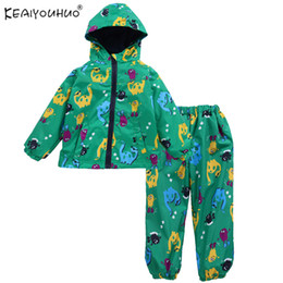 $enCountryForm.capitalKeyWord Australia - Girls Clothes Spring And Autumn Children Clothing Boys Sport Suits Windbreaker+Pants Kids Clothes Sets Waterproof Tracksuit