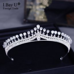 $enCountryForm.capitalKeyWord NZ - New Vintage Multilayers Luxury Silver Crystal Tiara Bridal Crown Wedding Hair Accessories Bridal Party Jewelry Big Headbands