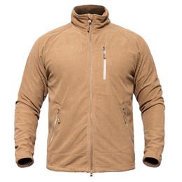 $enCountryForm.capitalKeyWord Australia - Tactical Fleece Jackets Men 2019 Spring Autumn Warm Army Combat Windbreaker Thermal Outwear Men Coats Size S-2xl