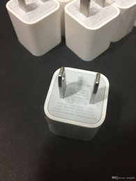 $enCountryForm.capitalKeyWord Australia - 1:1 Original OEM Real 1A USB US Wall Plug AC Power Adapter Travel Cube Charger A1385 For Apple iphone 5 6 7 8 X XS Max Plus 9 iphone6 6s