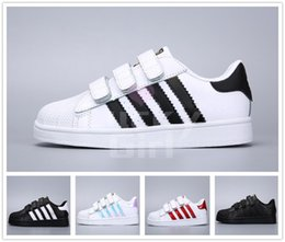 Pink star shoes baby online shopping - Children Skateboarding Shoes baby kids shoes Superstars Sneakers Originals Super Star girls boys Sports kids shoes