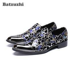 $enCountryForm.capitalKeyWord NZ - Brand Men Dress Shoes Handmade Formal Leather Business Shoes Fashion Party Wedding Shoes Men Slip-on zapatos de hombre