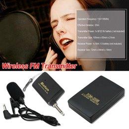 $enCountryForm.capitalKeyWord NZ - WR601 Wireless Microphone MIC Conference Speech FM Transmitter Collar Clip Style Speakers