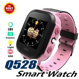 $enCountryForm.capitalKeyWord NZ - Q528 Cute Sport Kids Watch Child LBS Tracker with Flash Light Touchscreen SOS Call Location Finder Smart Watch for kid Child PK GPS Q50