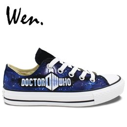 Canvas shoe painting designs online shopping - Wen Unisex Hand Painted  Casual Shoes Custom Design Doctor 31611dd16add