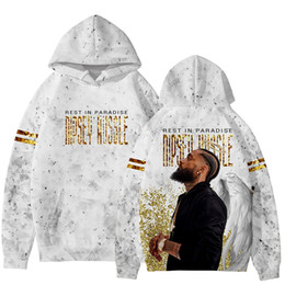 b0527c0b95c3 Rest In Paradise Nipsey Hussle Hoodies for Men Women Teenager 3D Designer Pullover  Sweatshirts Spring Casual Long Sleeved Tops Hooded