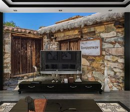 $enCountryForm.capitalKeyWord Australia - Customized Wallpaper For Walls Home DecorationTurkish Stone House 3d Landscape Wallpaper HD Digital Print Beautiful Wallpaper