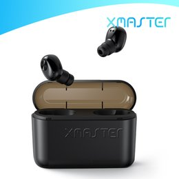 Wholesale invisible mini earphones resale online - BL1 Bluetooth V5 Mini Earphone Noise Cancelling Deep Bass TWS Earbuds Waterproof Sports Invisible Headphone With mAh Powerbank xmaster