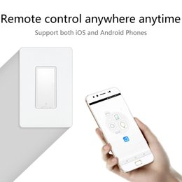 Wholesale Smart Wifi Switch Android Electrical Remote Control Smart Home Home Automation WIFI Remote Controller APP Wall Light Switch