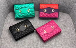 Wholesale designer wallet luxury wallet red bottoms lady wallet multicolor designer purse Card holder original box women classic zipper pocket