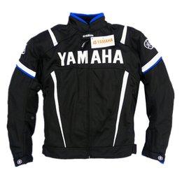 Jackets Motorcycles Nylon Australia - Moto Racing Yamaha Windproof Jacket with 5 Piece Motorcycle Jacket Men's Motorcycle Jacket