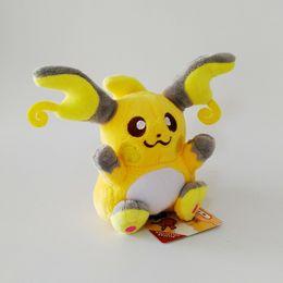 raichu plush toys 2019 - Hot Sale New 5.5inch 14cm Raichu Pikachu Plush Stuffed Doll Toy For Kids Best Holiday Gifts Wholesale discount raichu pl