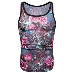 $enCountryForm.capitalKeyWord Australia - 2019 Foreign Trade New Style Men's Slim-Fit Fancy Small Vest Fashion Leisure L Ride Floral Print han bei hearttraeh Male