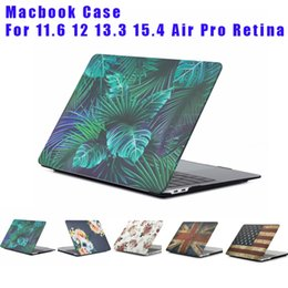 $enCountryForm.capitalKeyWord Australia - Plastic Case Cover Water Decal Protective Shell for Macbook Air Pro Retina 11 12 13 15 inch Laptop PC Marbling Cases New Style free DHL