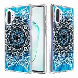 iphone tiger hard case UK - Cartoon Case For Samsung A51 A71 S10 S10e A10S A20S ShockProof Flower Sea Butterfly Tiger Ocean Hybrid 2in1 Hard PC+TPU Unicorn Heavy Cover