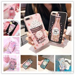 Star Water Case Australia - Luxury Cute Princess Alice Bottle Glitter Star Dynamic Liquid Quicksand Phone Case For iPhone 5 5S 5SE 6 6S 7 8 Plus X Cases