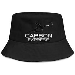 Cotton Express UK - Womens Mens Washed Flat-along Adjustable Carbon Express Archery Logo Hip Hop Cotton Baseball Hats Bucket Sun Hats Cadet Army Caps Bucket Hat