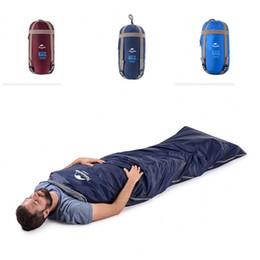 Fleece bags online shopping - Naturehike NH Envelope Sleeping Bags Tuba Colors Light Breathable Portable Season Sleep Bag Factory Direct dl E1