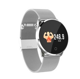 smart watch sim ios heart NZ - Hot H2 color screen Bluetooth 4.2 support SIM, TF card waterproof heart rate oximetry sleep monitoring camera sports smart watch bracelet