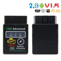 advance diagnostic Australia - Mini OBD2 V2.1 ELM327 Bluetooth advanced Car diagnostic scanner tool for Multi-brands CAN-BUS Supported SAE J1850 PWM ISO15765-4 CAN