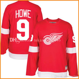 Cheap red wing jerseys online shopping - cheap Detroit Red Wings Gordie Howe Hockey Jersey Men s Embroidery And Stitched Gordie Howe CCM NHL Jerseys