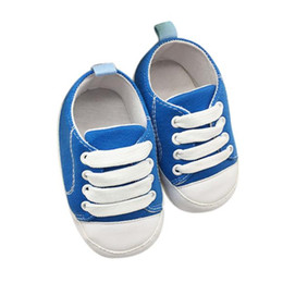 $enCountryForm.capitalKeyWord UK - Baby Shoes Girl Boy Soft Anti-Slip Canvas Shoes Baby Great gift Lace-Up Composite sole Colorful Shoes