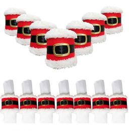 $enCountryForm.capitalKeyWord NZ - 2018 Christmas Santa claus Napkin Ring Table Decor Napkin Holder for Christmas Hotel holder,Tableware Dinner Christmas decoration