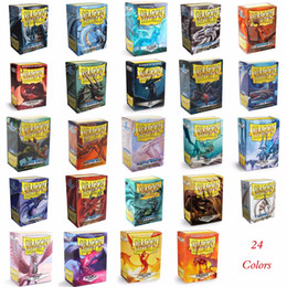 sleeves cards Australia - Part 2 66x91mm 100 PCS LOT Colorful Matte Cards Dragon Shield Sleeves MGT Cards Protector for Pkm, MGT  Star Reals Sleeve Games